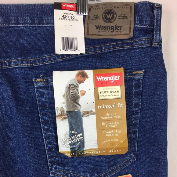 654c3c9e Wrangler Jeans | Five Star Relaxed Fit 42x30 Ep6 | Poshmark